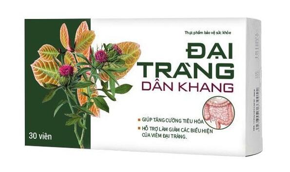 Sản phẩm Đại Tràng Dân Khang giúp tăng cường tiêu hóa và hỗ trợ làm giảm các biểu của viêm đại tràng