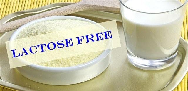 Sử dụng sữa không chứa Lactose