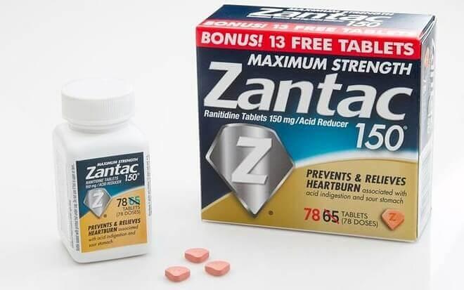Thuốc chữa trào ngược dạ dày Maximum Strength Zantac