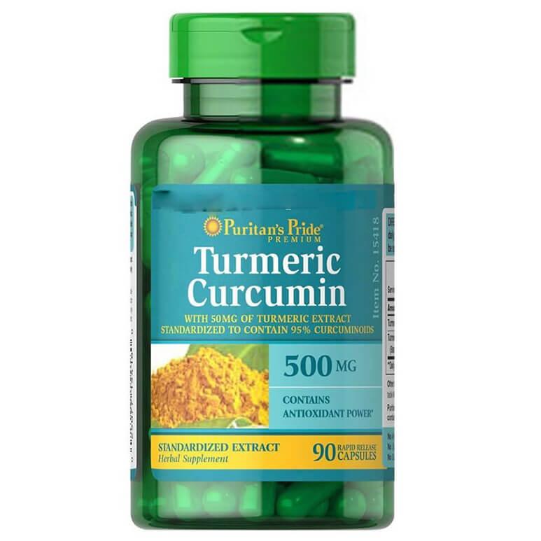 Viên uống giảm đau dạ dày Turmeric Curcumin Extrac