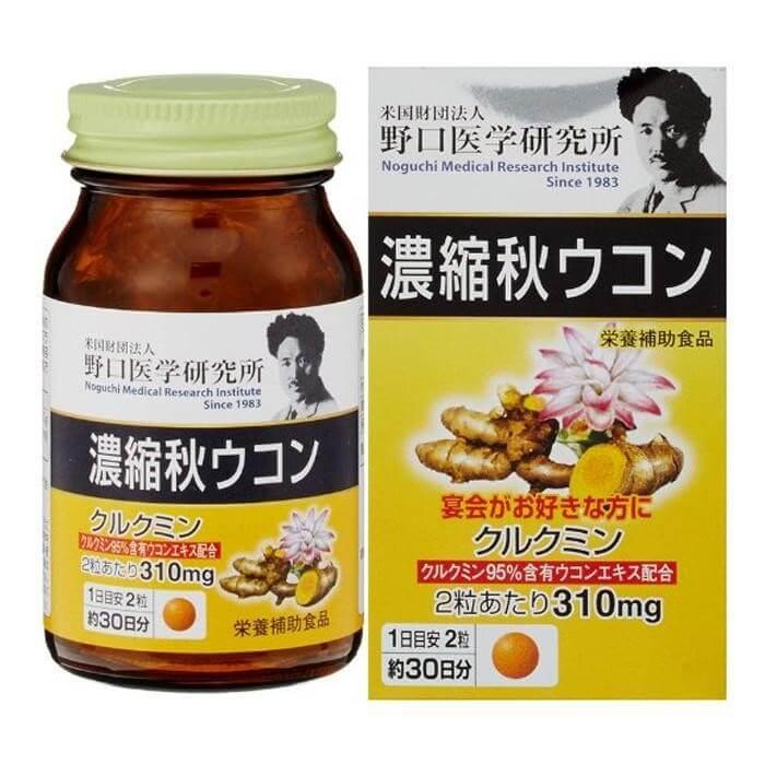Viên uống nghệ hỗ trợ tiêu hóa Noguchi Aki Meiji Ukon