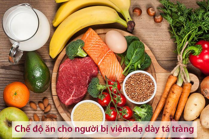 Chế độ ăn dành cho người bị viêm loét dạ dày tá tràng