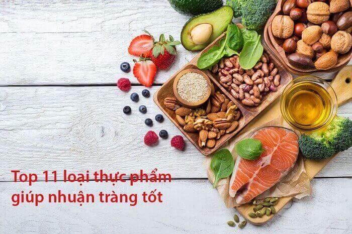 Những loại thực phẩm giúp nhuận tràng ngăn ngừa táo bón tốt