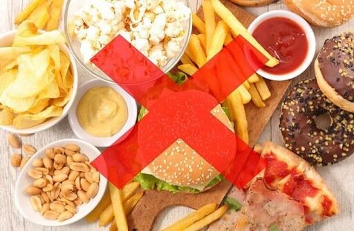 Nói không với các thực phẩm nhiều dầu mỡ sẽ không tốt trong quá trình điều trị đại tràng của bạn