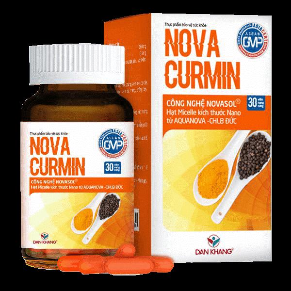 Sản phẩm Novacurmin giải pháp tiện ích và an toàn cho dạ dày