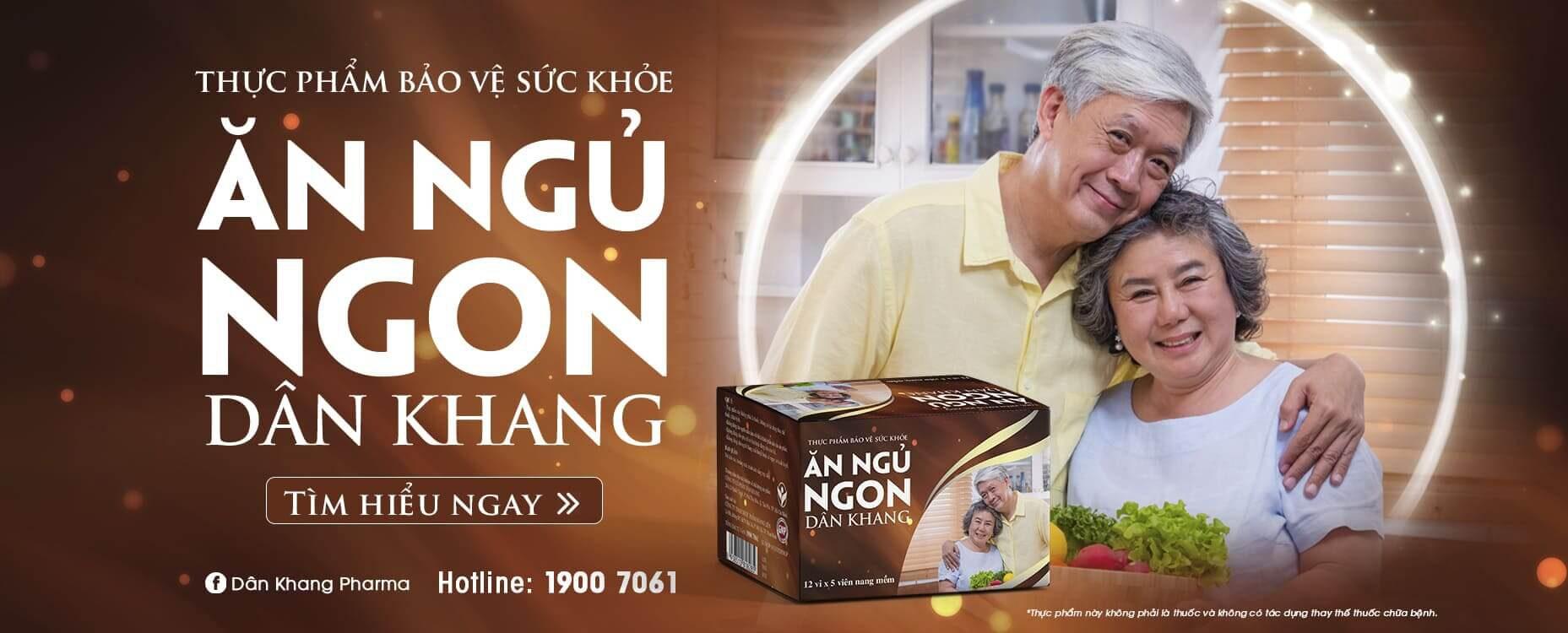 Ăn ngủ ngon Dân Khang