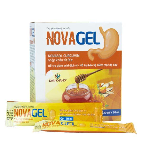 Sản phẩm Novagel với các thành phần từ thiên nhiên giúp giảm đau dạ dày hiệu quả