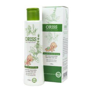 Sữa tắm rôm sẩy Oriss Baby Liquid Wash
