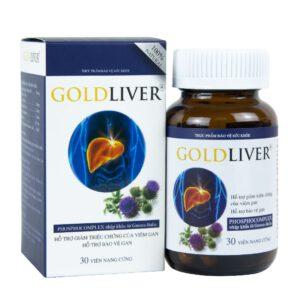 Sản phẩm Goldliver - giúp giải độc, bảo vệ và tái tạo các tế bào gan