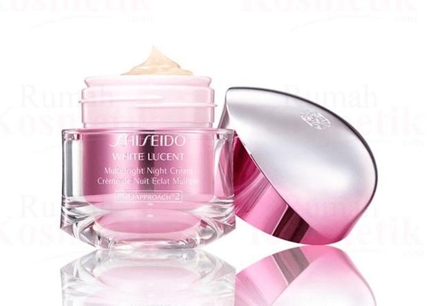 Dòng kem dưỡng trắng da ban đêm Shiseido White Lucent MultiBright Night Cream