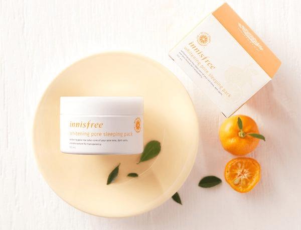 Kem dưỡng trắng da ban đêm Innisfree Whitening Pore Cream