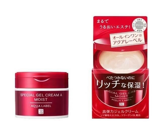 Kem dưỡng ẩm Shiseido Aqualabel Gel Cream