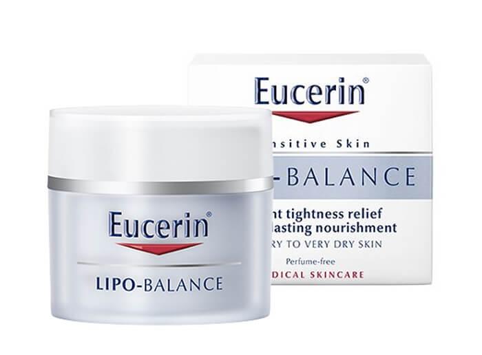 Kem dưỡng ẩm dành cho da khô Eucerin Lipo Balance