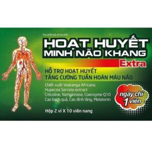 Sản phẩm Hoạt Huyết Minh Não Khang Extra