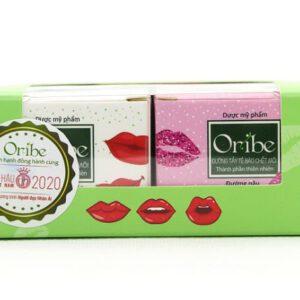 Sản phẩm Mặt nạ dưỡng môi và tẩy tế bào chết môi Oribe